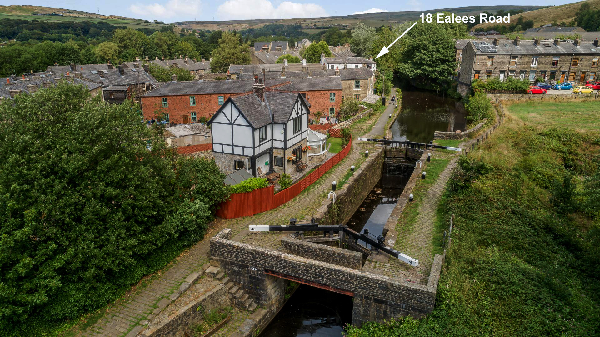 Canal at Ealees Littleborough