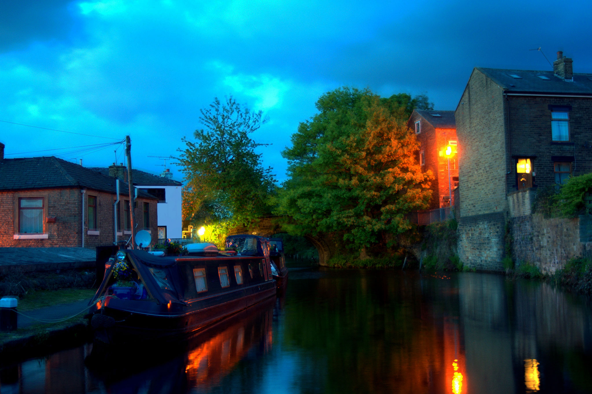 Ealees Canal Evening